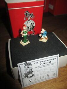 Pixi & Uderzo & Gosciny- Agecanonix  et sa jolie épouse-Boite & Certificat-1998