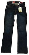 X2 Curvy Boot Cut Jeans Womens 31 0 Regular Deep Blue Black Indigo Stretch Denim