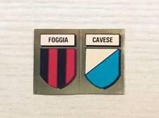 FIGURINE LAMPO / FLASH - CALCIO FLASH '82 - SCUDETTI:  FOGGIA / CAVESE - NEW
