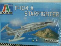 ITALERI Bausatz 1234 im Maß 1:72:  F-104 A STARFIGHTER
