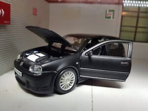 1:24 VW Golf R32 GTI Mark 4 Mk4 IV V6 31290 Matt Black Scale Model R-32