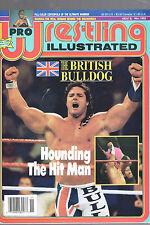 NOVEMBER 1992 PRO WRESTLING ILLUSTRATED MAGAZINE-BRITISH BULLDOG-ULTIMATE WARRIO
