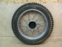 "Montesa Cota 348 Trials 51M Vintage Used Original 18"" Rear Wheel 1976 #TSH"