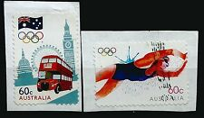 ˳˳ ҉ ˳˳AU675 Australia Complete set 2012 different London, Olympic Games Bus