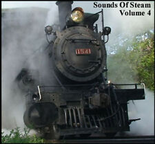 Train Sounds On CD: Sounds Of Steam, Volume 4