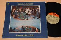 GIGLIOLA CINQUETTI LP STASERA BALLO LISCIO NM !! 1°ST ORIG 1973 GATEFOLD AUDIOFI