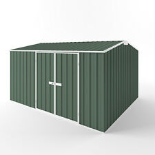 EasySHED Gable Roof 3.75m x 3m Double Door Colour Garden Shed