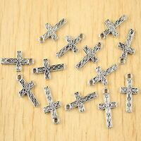 40pcs copper tone star frame charms findings H1921
