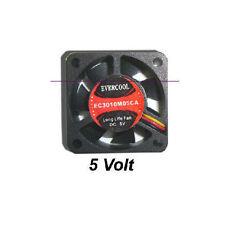 EverCool EC3010M05CA   5V 30mm X 30mm X10mm Fan, 3Pin