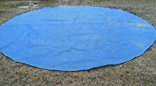 Round solar pool cover 14' - 15'
