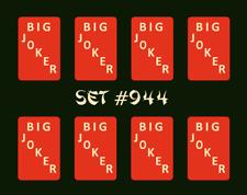 Mah Jongg Jong Mahjong Joker Stickers - Set #944 ** Free Shipping **