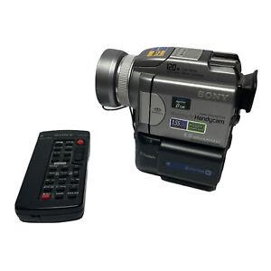 Sony DCR-PC120 HD MiniDV Bluetooth 1.5 MP Camcorder Transfer MiniDV Videos.