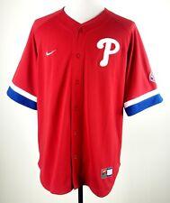 NEW Nike Philadelphia Phillies Baseball Jersey Mens XL MLB Uniform Team Shirt