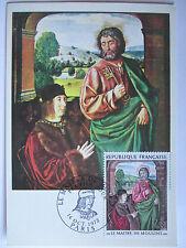 Frankreich, Maximumkarte von 1972, Le Maitre de Moulins (15543)