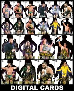 Topps SLAM WWE SHADOW 2021 [20 CARD SIGNATURE/BASE SETS] Mickie+++