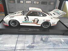 PORSCHE 935 Turbo Kremer Vaillant DRM 77 Zolder Vaillant #51 Wollek Norev S 1:18