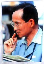 Bild picture König King Bhumibol Adulyadej RAMA IX Thailand 15x10 cm  (s10