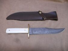 Bear & Sons 512 Demascus Bone Handle with NRA Sheath