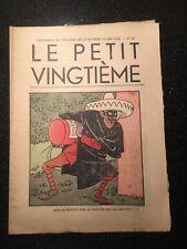 Tintin - Hergé - Le Petit Vingtieme du 25 juin 1936 - N25 - TTBE
