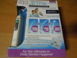 New JP200 Elite  Jetpik Flosser Tips Rechargeable Flosser & Sonic Toothbrush F/S