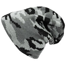 Mfh Hombres Frío Knitted Beanie Hat Cálido Invierno Acrílico Cap Ejército Urban