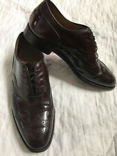 Johnson & Murphy  wingtips 8.5M  Aristocraft Burgundy Leather Loafer