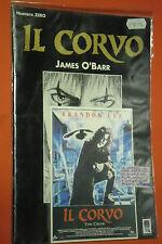 IL CORVO THE CROW VENDETTA- RARO NUMERO ZERO PLATINO-COMPLETO CARTOLINA GP-PRESS