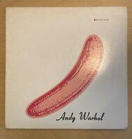 "Andy Warhol ~ The Velvet Underground & Nico ~Verve V6-5008~Original Cover LP 12"""