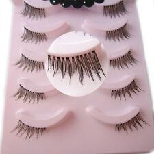 NO44 Handmade 5 pairs winged eye lashes Half MINI Corner False eyelashes