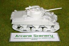 SCALA 1/48 – 28 mm WW2 M4A4 75 mm resina Sherman Tank una BLITZKRIEG Miniatures
