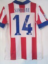 Atletico Madrid  2014-2015 Simone Home Football Shirt Adult Small  /41233