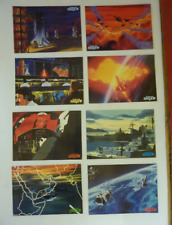 FUTURE WAR 198X年 Lobby card set movie japan rare About 36.3cm×25.6cm