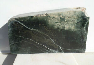 3kg Australian polished jade BLOCK mineral collection lapidary carving cabs AU03