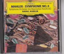 CD - MAHLER - SYMPHONIE No. 8 / SYMPHONIE-ORCHESTER RAFAEL KUBELIK #K02#