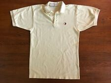Vintage 90's Duck Head Men's Size L Yellow Short Sleeve Polo Shirt FREE SHIP