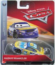VOITURE DISNEY PIXAR CARS MARKUS KRANKZLER  RACER CARS 3