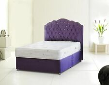 Faux Leather Divan Beds with Mattresses