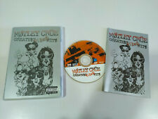 Motley Crue Greatest Video Hits - DVD + Extras Region 0 All - AM