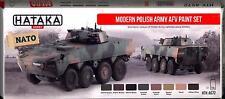 Hataka Hobby Paints MODERN POLISH ARMY AFV Acrylic Paint Set