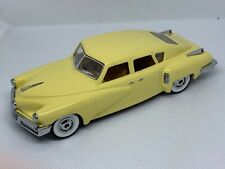 1948 Tucker Dinky Collection by Matchbook #DY11 Yellow 1:43 Scale Wrong box