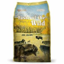 New listing Taste Of The Wild High Protein Real Meat Recipe Dry Dog Food With Roasted Bison