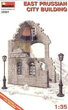MiniArt 1/35 ruiné Est Prusse City Construction # 35501