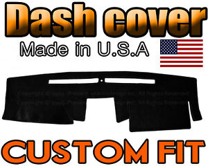 Fits 2007-2020  NISSAN  FRONTIER  DASH COVER MAT  DASHBOARD PAD  / BLACK