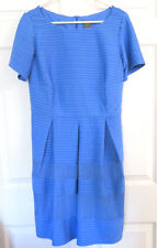 NWOT TAYLOR Woman Size:12W  Baby Blue Dress w/Pleated lined skirt Back zip