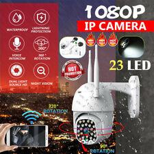 Telecamera IP CCTV HD da 5 MP Telecamera WiFi PTZ esterna impermeabile IR 23 LED
