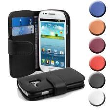 Handy Hülle für Samsung Galaxy S3 MINI Cover Case Tasche Etui mit Kartenfächer