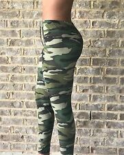 Super Soft & Stretchy Camouflage Printed Leggings