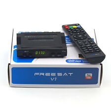 Freesat V7 DVB-S2 HD Satellite TV Receiver 1080P Support PowerVu Cccamd Youtube