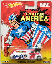 HOT WHEELS POP CULTURE CAPTAIN AMERICA '38 DODGE AIRFLOW
