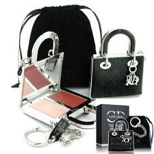 100% Auténtico Bolso Exclusivo Raro Lady Dior Paleta de maquillaje empedrado encanto